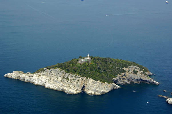 Tino Island Light (Isola del Tino Light)
