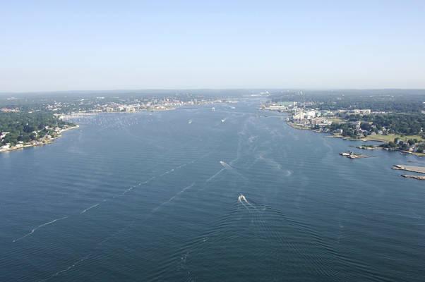 Thames River Harbor Inlet