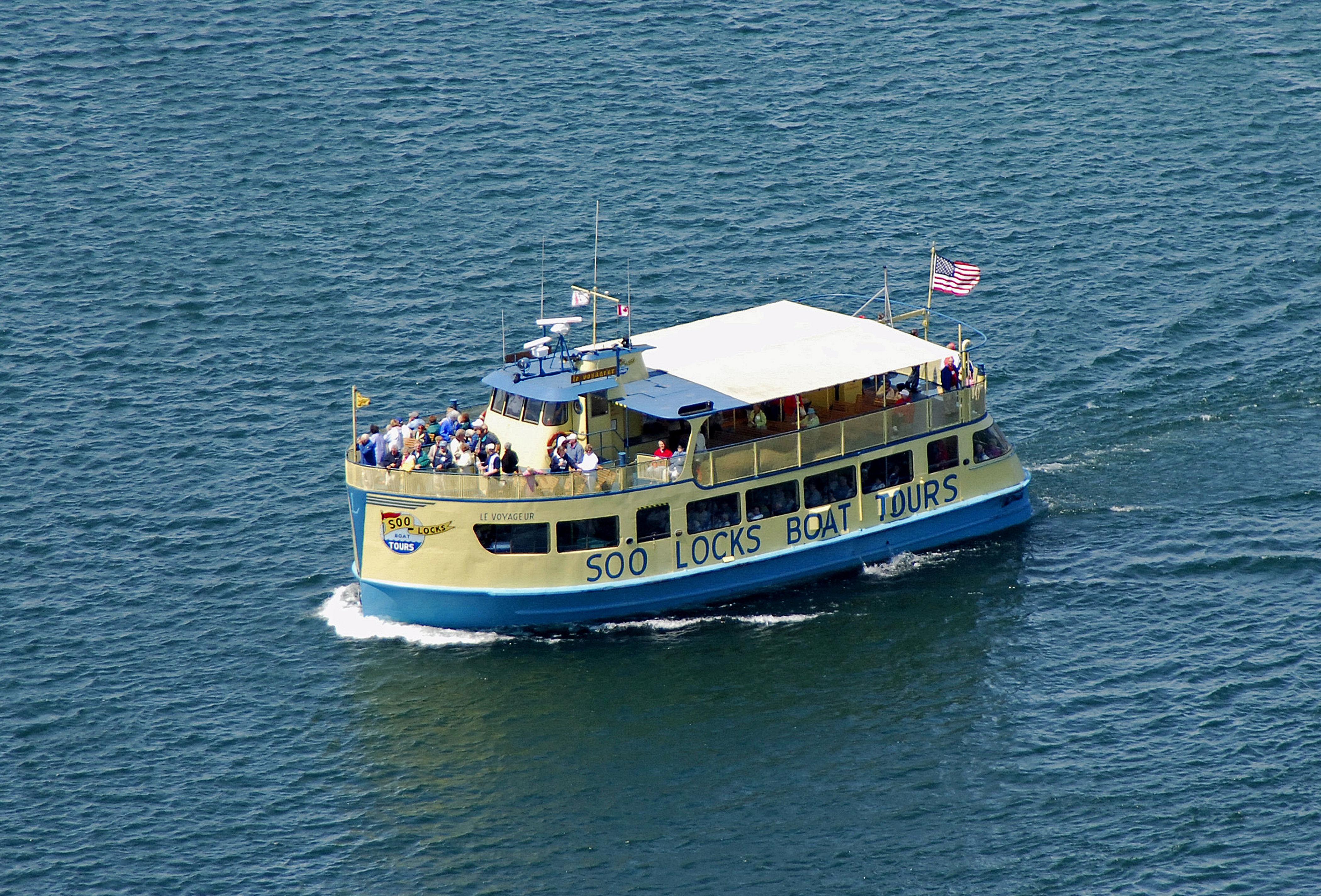 Soo Locks Boat Tours Sault Ste Marie