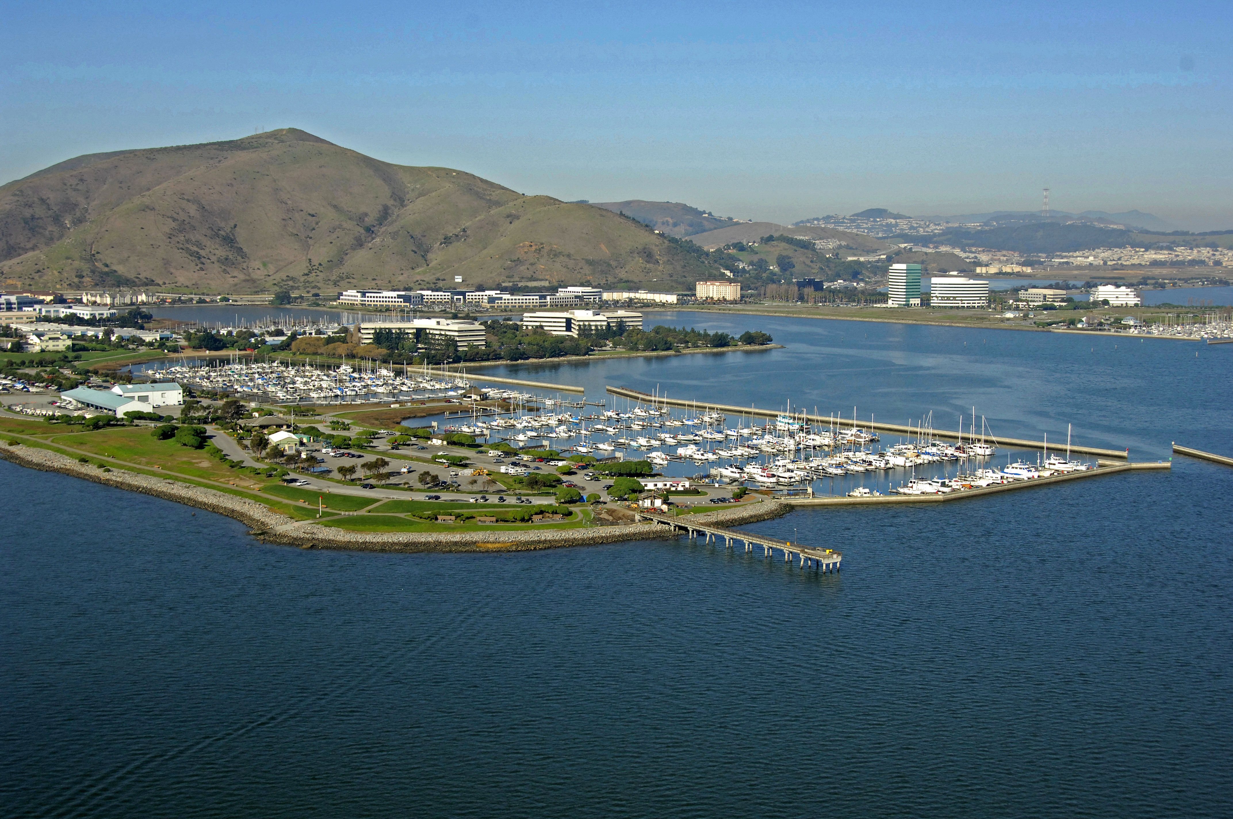 Oyster Point Marina in South San Francisco, CA, United States