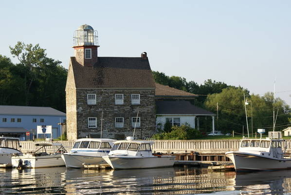 Salmon River Lighthouse & Marina