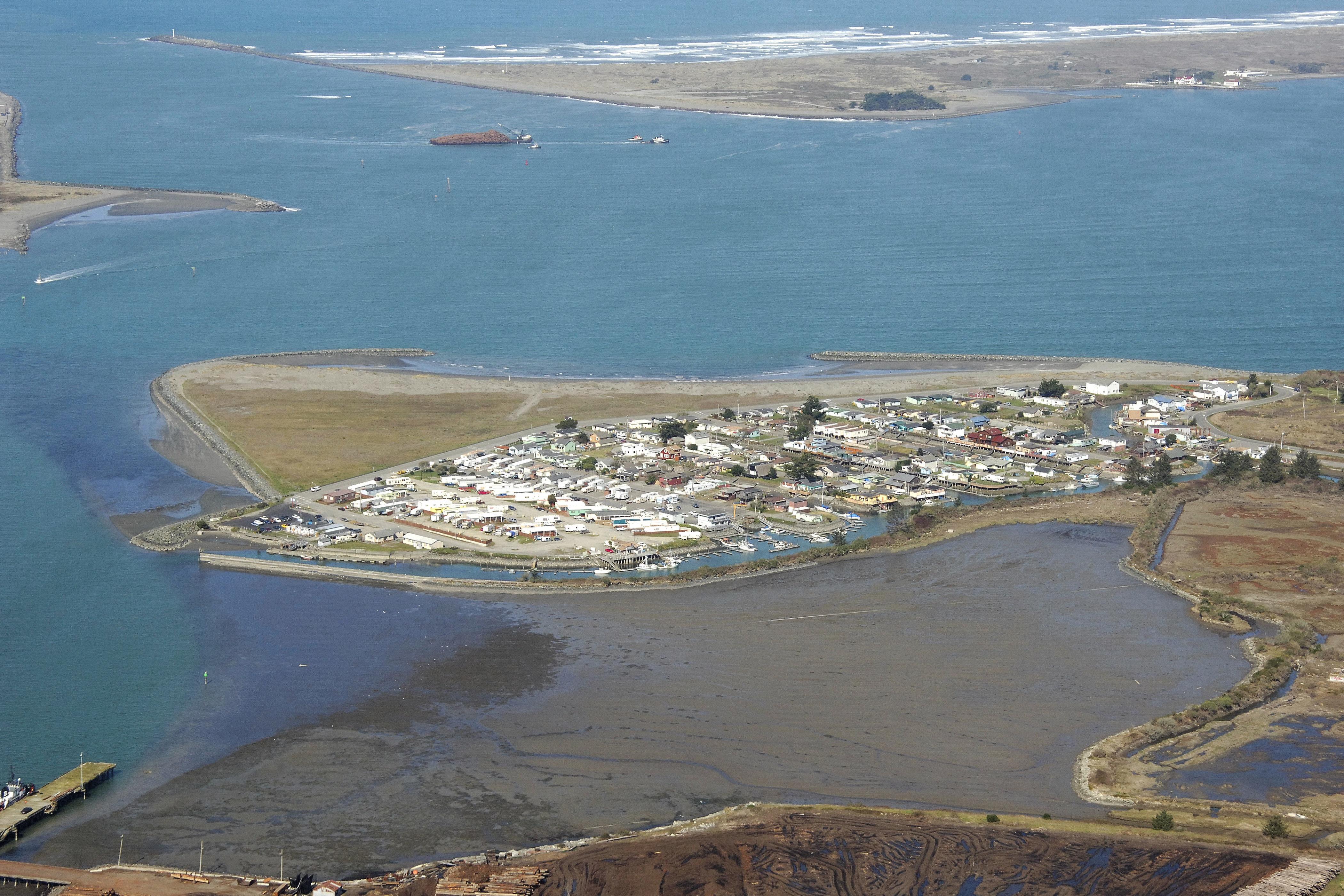 Fields Landing Harbor In Ca United States Harbor