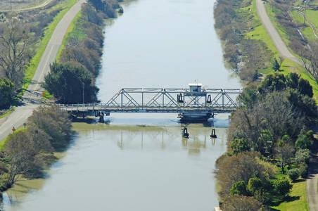 Tyler Island Swing Bridge