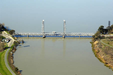 Threemile Slough Lift Bridge