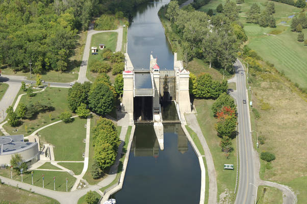 Lock 21 Peterborough Lift Lock
