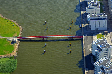 Vasteras Oestra Hamnen Bridge