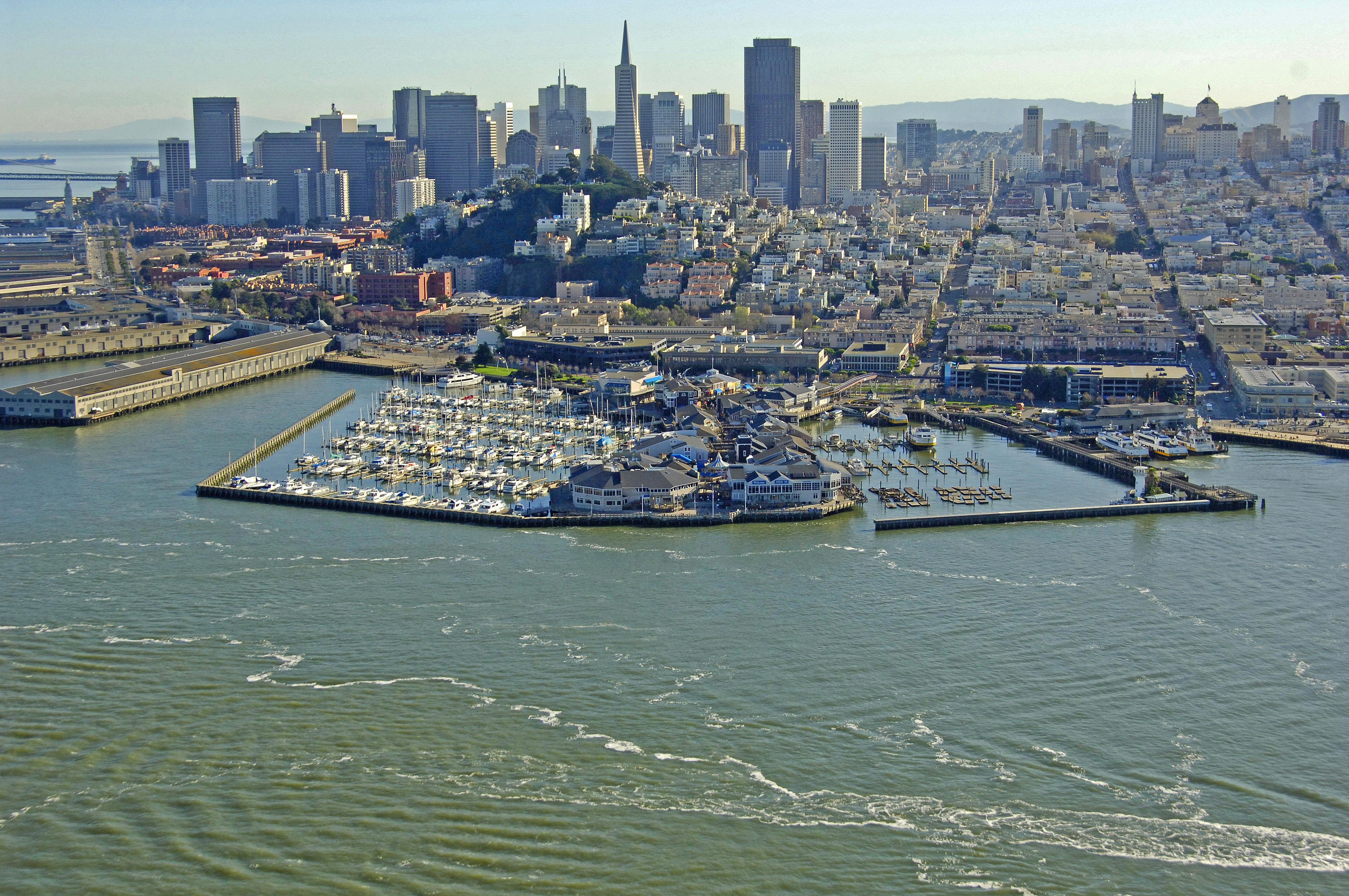 Pier 39 Marina In San Francisco Ca United States