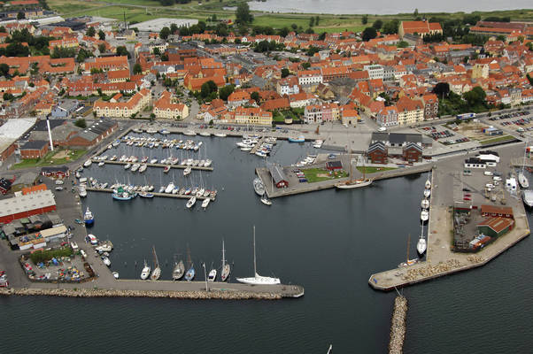 Faaborg Harbour and Marina