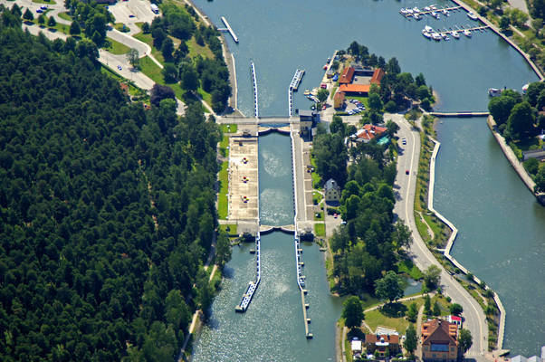 Sodertalje Canal Lock