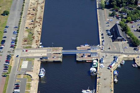 Honfleur East Basin Bridge
