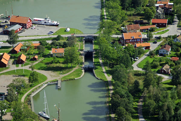 Sjotorp Slussvagen Lock