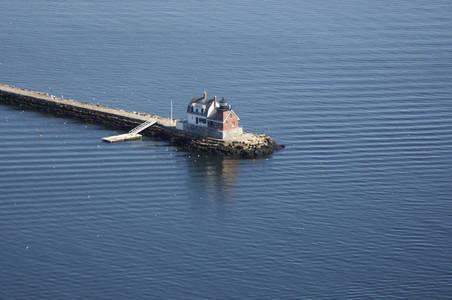 Rockland Harbor Breakwater Lighthouse