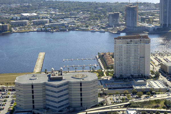 Berkman Plaza And Marina In Jacksonville Fl United