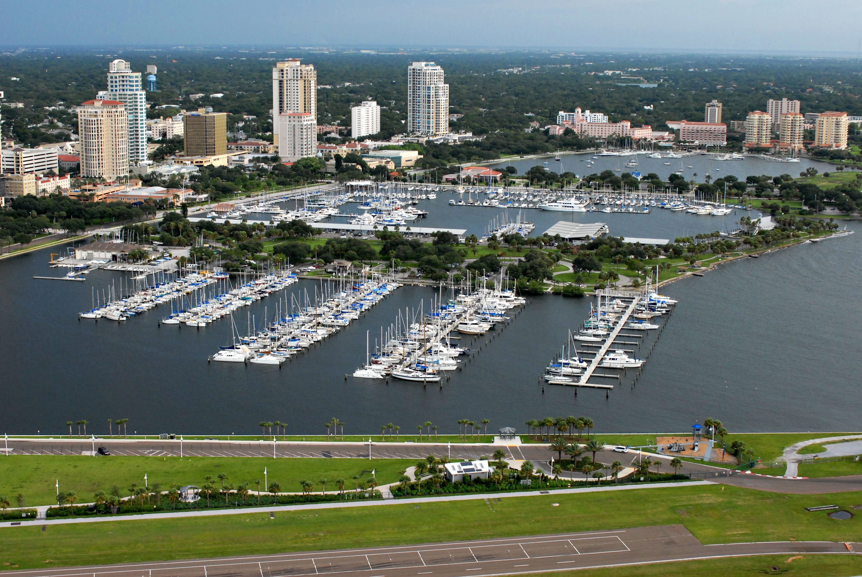 City of St  Petersburg Municipal Marina in St Petersburg, FL, United