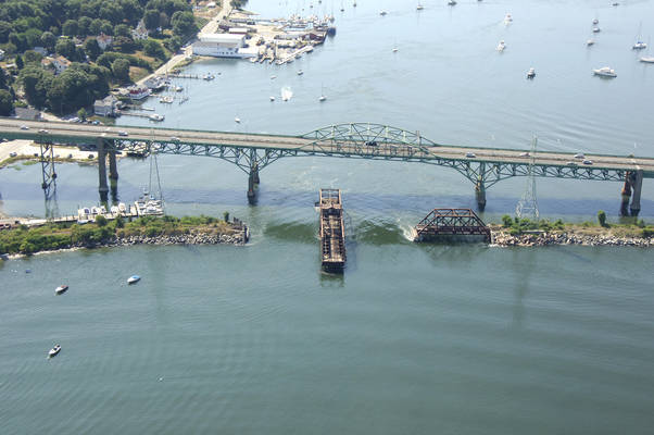 Sakonnet River Channel RailRoad Bridge