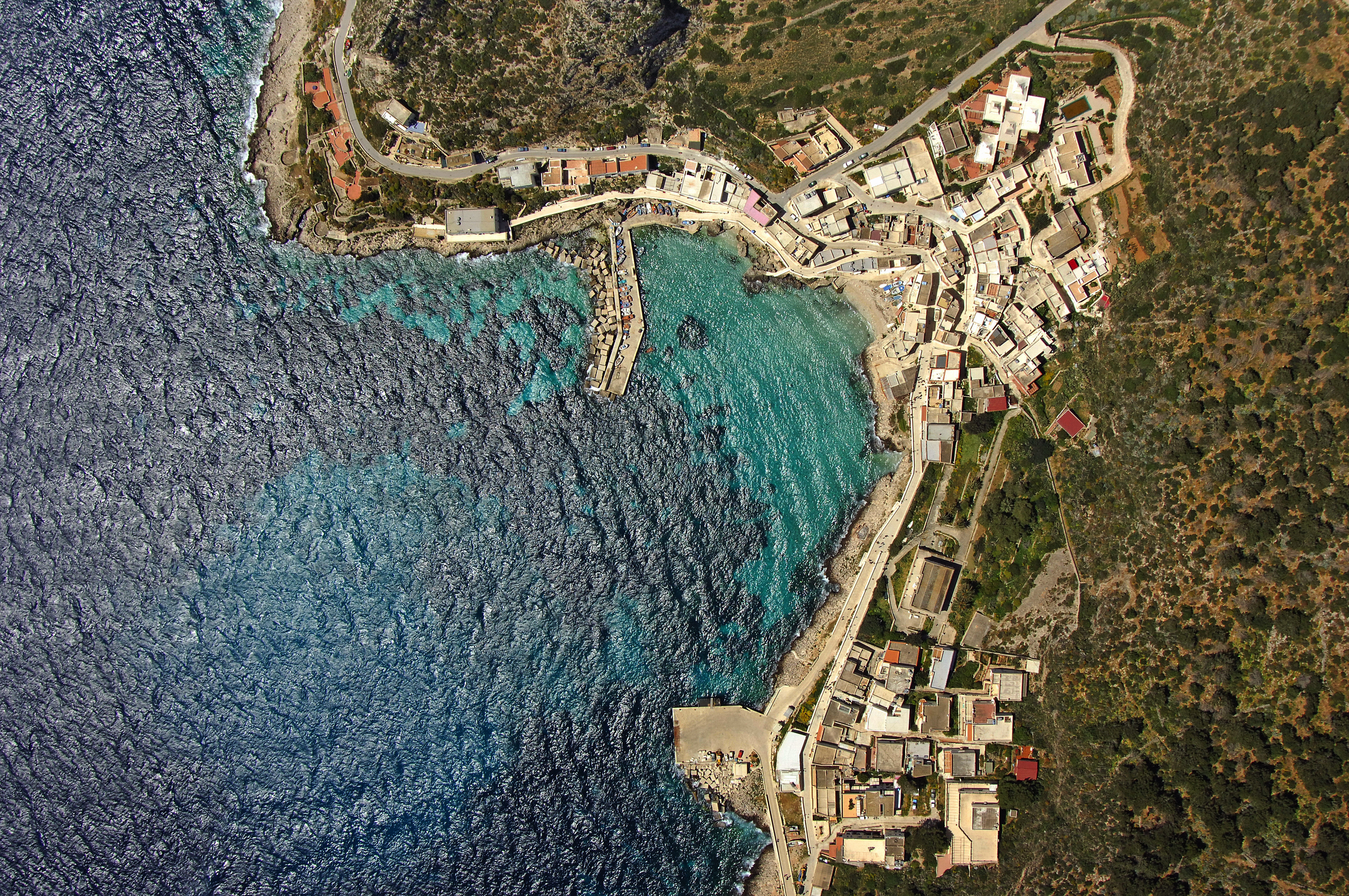 Cala Dogana Marina in Levanzo Sicily Italy Marina Reviews