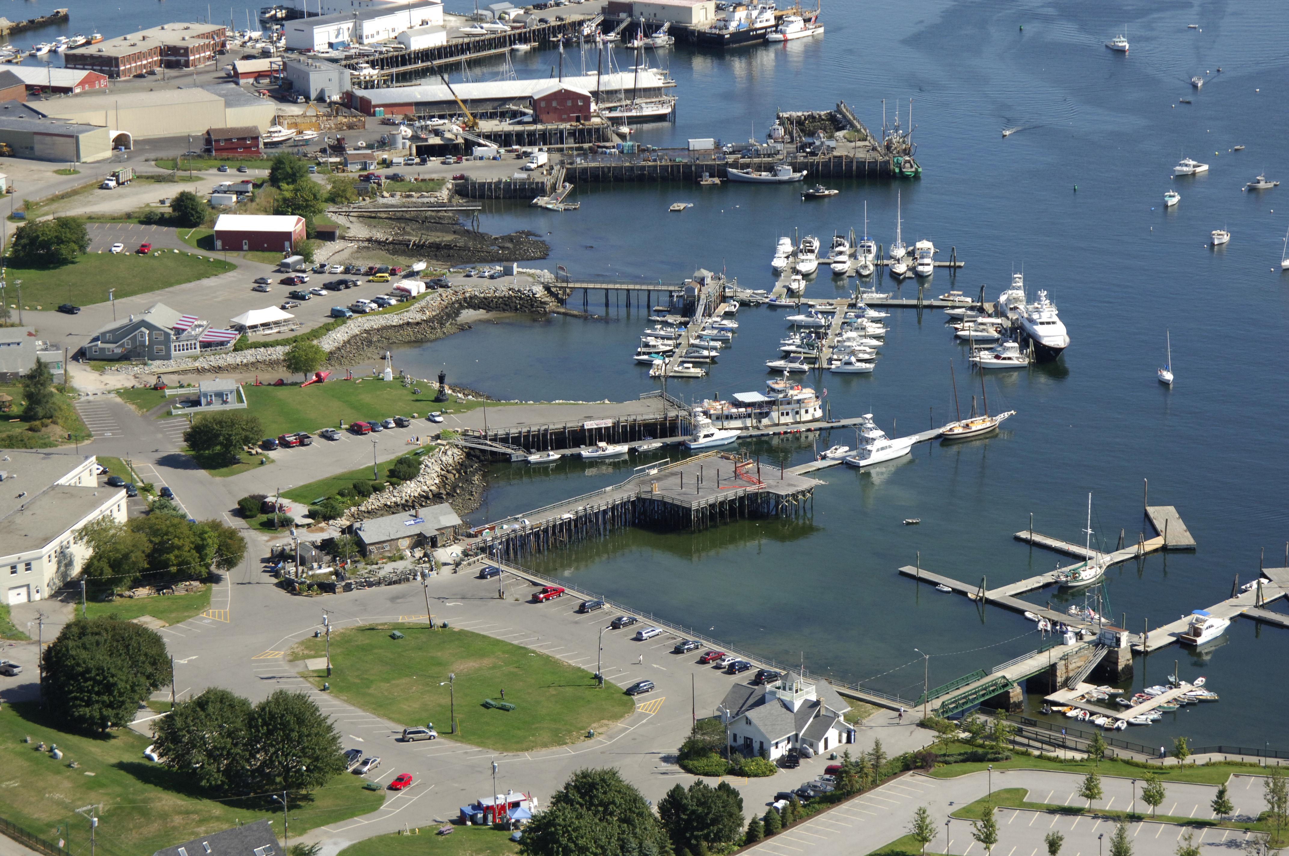 Landings Marina in Rockland, ME, United States - Marina
