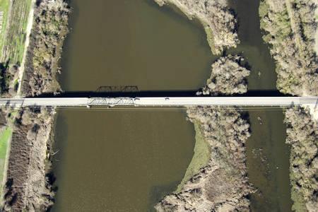 Twin Cities Swing Bridge