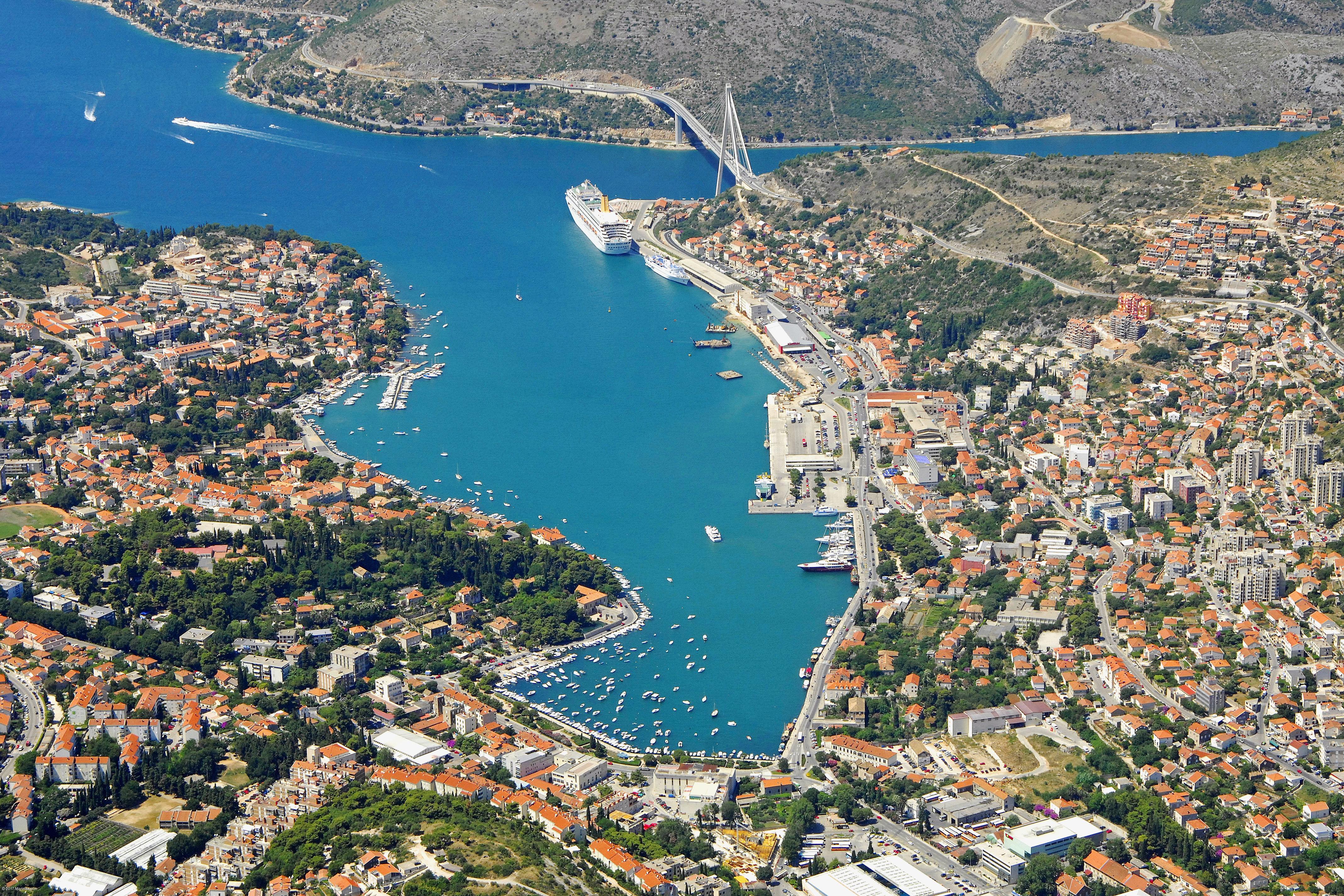Dubrovnik Gruz Luka Harbor in Dubrovnik, Croatia - harbor Reviews - Phone Number - Marinas.com