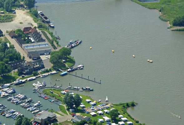 Culemborg Lek River Ferry