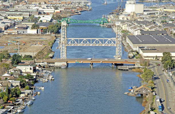 Fruitvale Avenue Bascule Bridge/RR Lift Bridge
