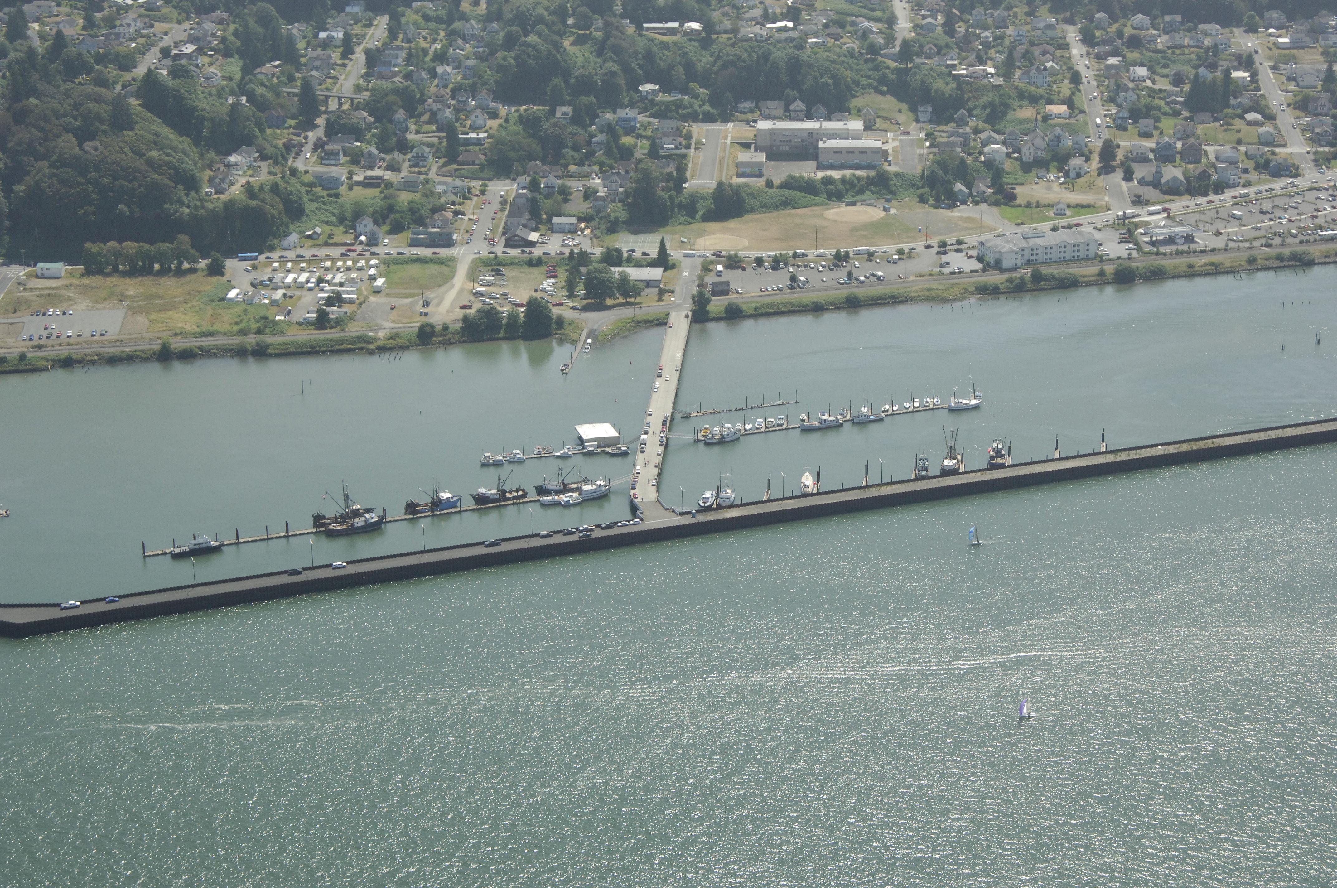 Port Of Astoria Marina East Basin In Astoria Or United