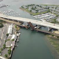 Shark River Railroad Bascule Bridge