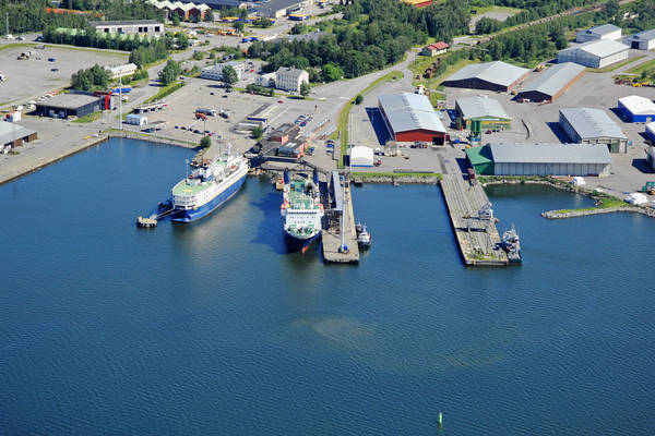 Vaasa Ferry Harbour