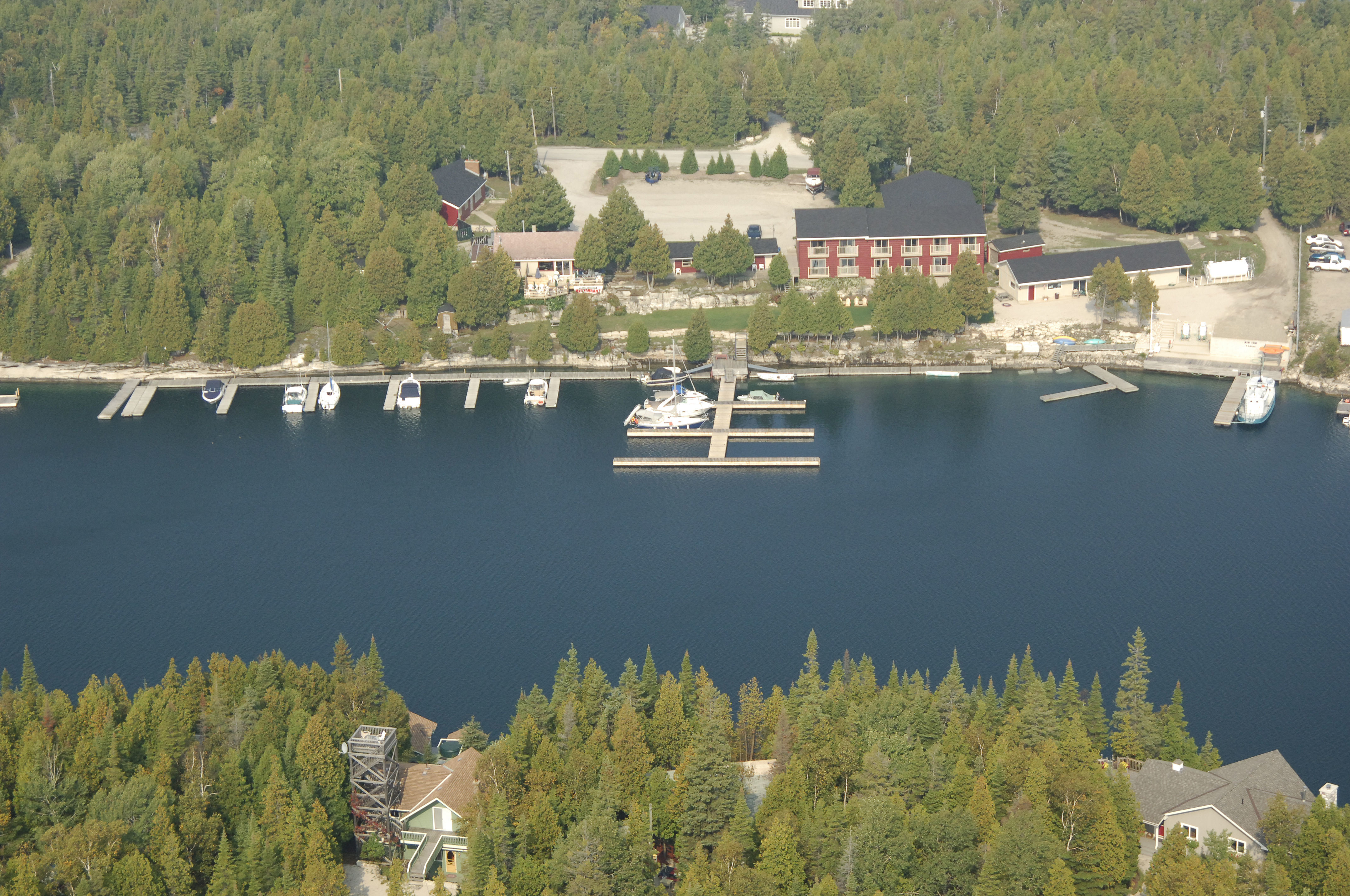 Big Tub Harbour Resort in Tobermory, ON, Canada - Marina Reviews ...