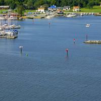 Rock Hall Harbor Inlet