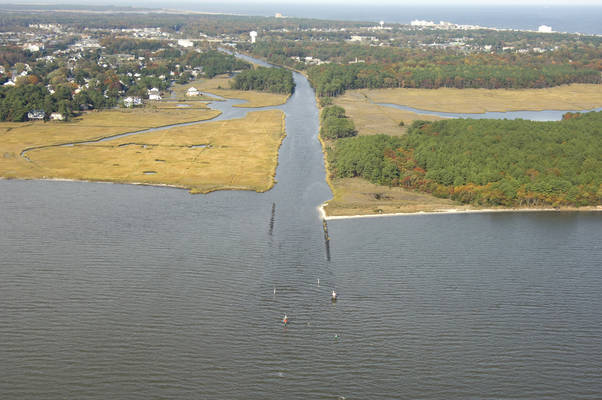 Lewes and Rehoboth Canal South Inlet