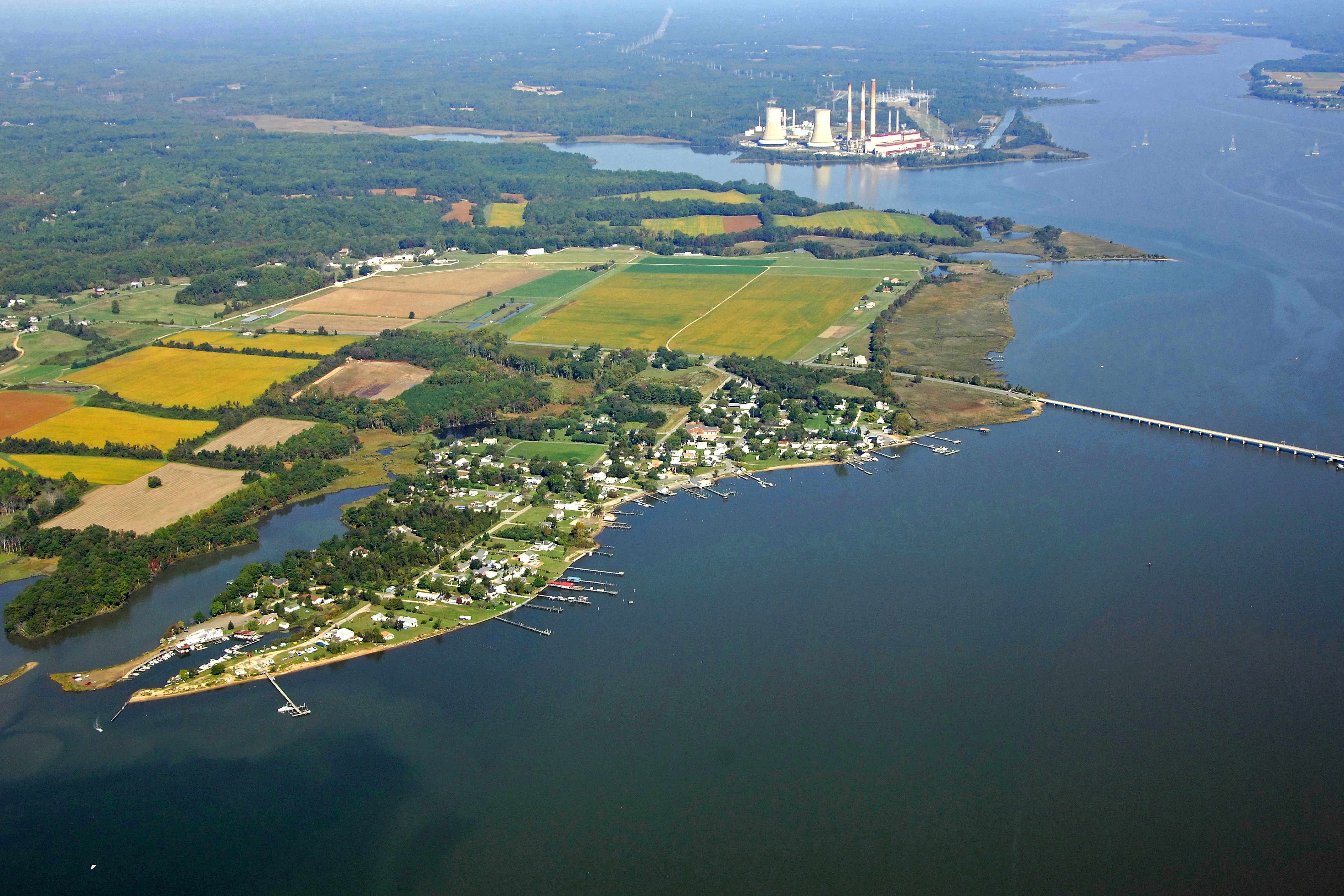 Pax River Maryland >> Chalk Point Patuxent River Harbor In Eagle Harbor Md United States