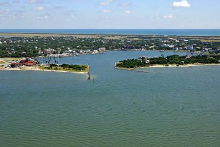 Ocracoke Harbor Inlet