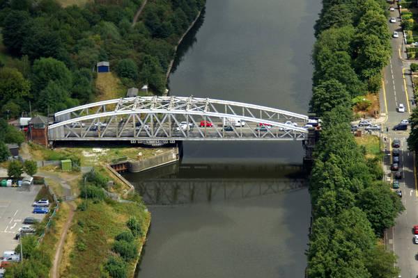 Northwich Road Swing Bridge