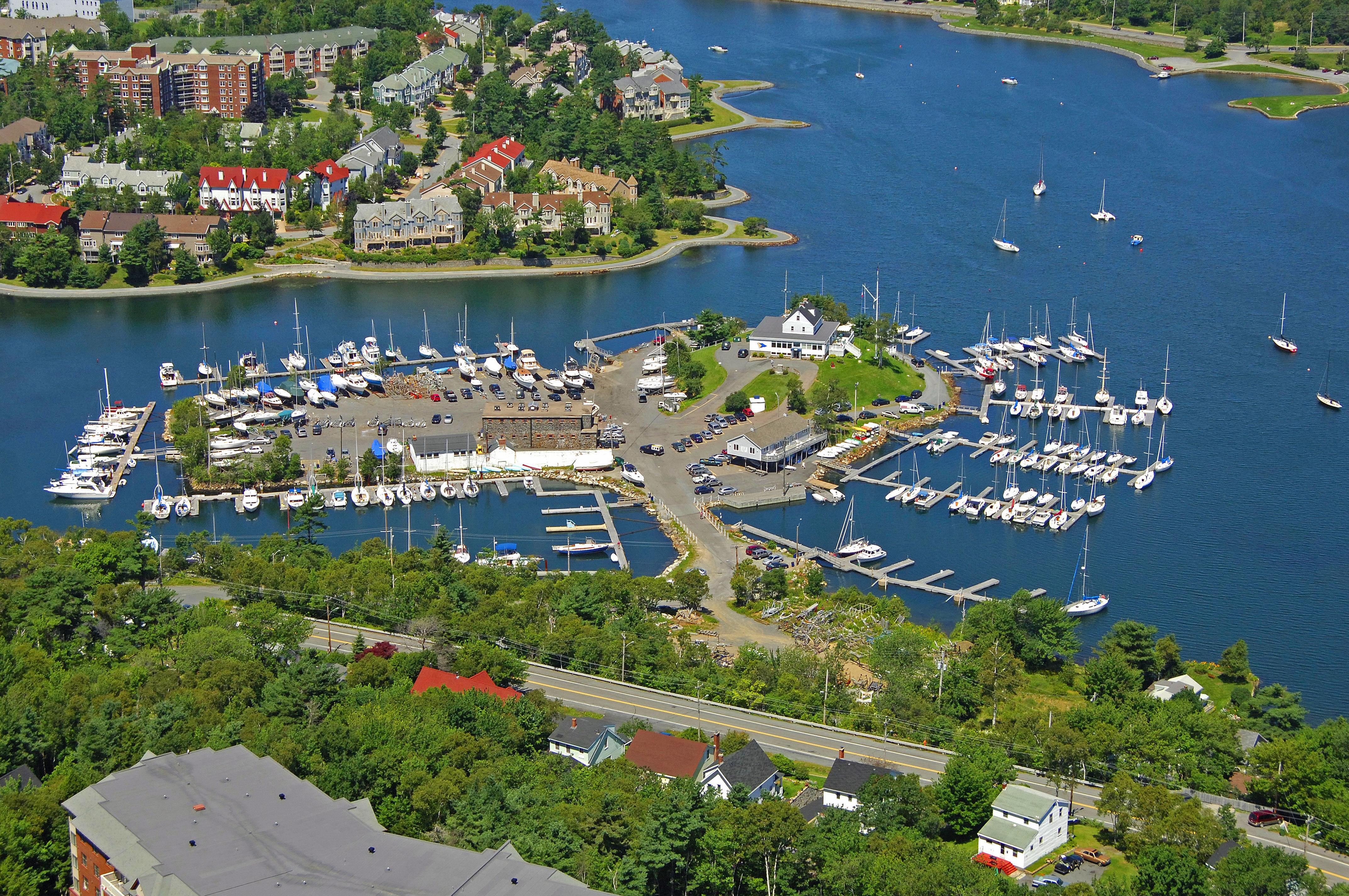 Armdale Yacht Club Marina in Halifax, NS, Canada - Marina