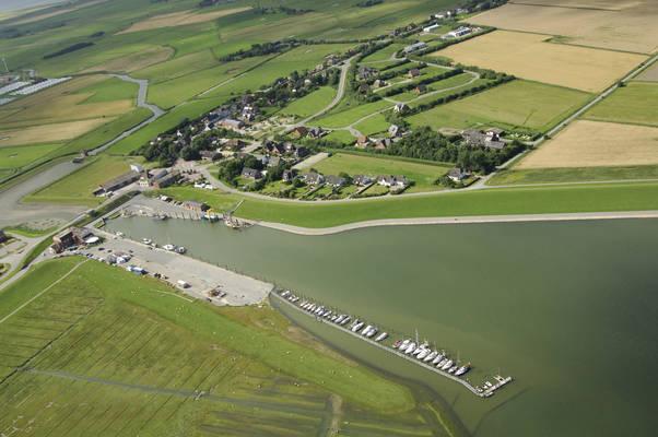 Sportboot hafen Pellworm-Tammensiel