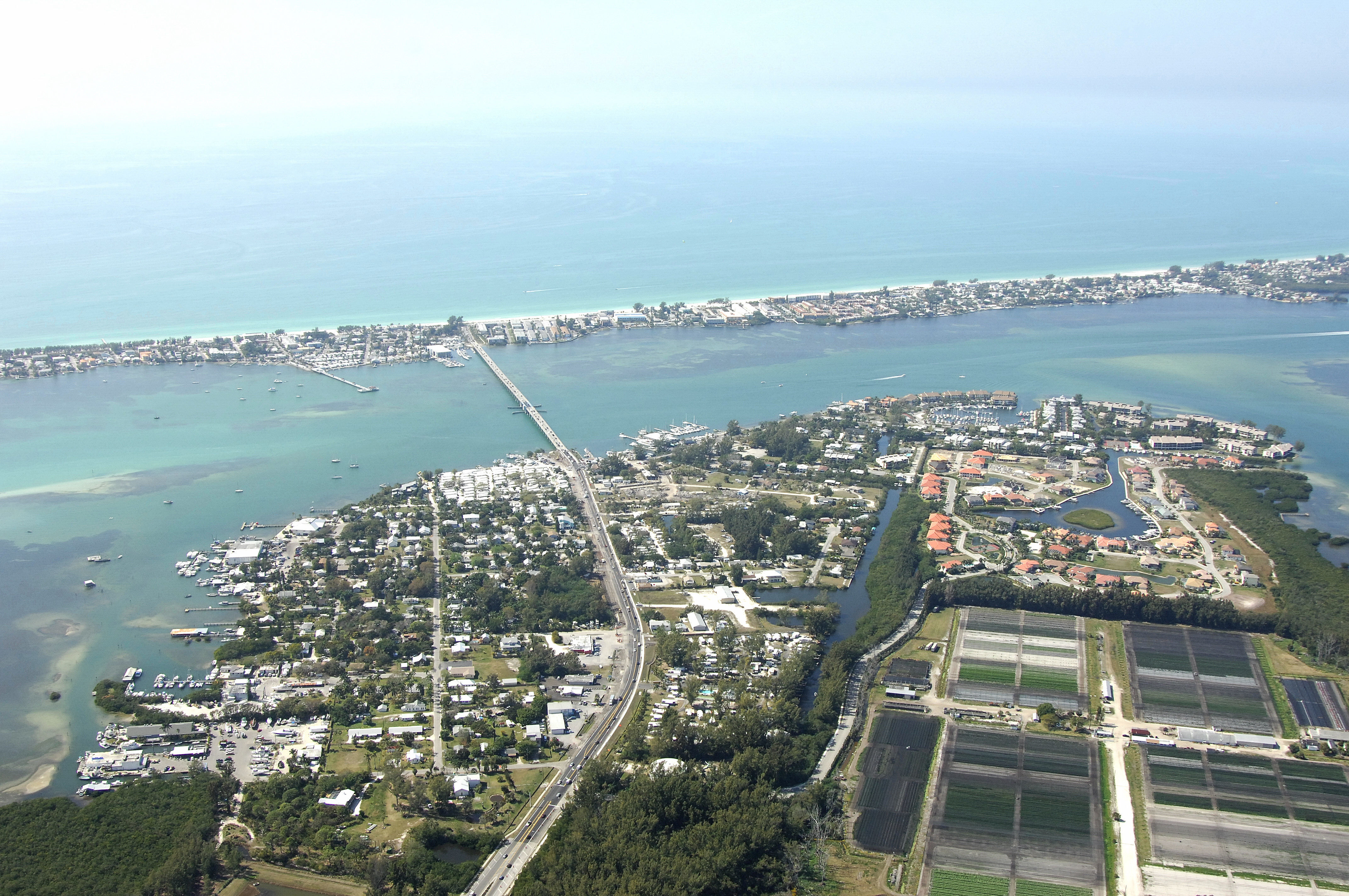 Bradenton Beach Harbor in Bradenton Beach, FL, United States