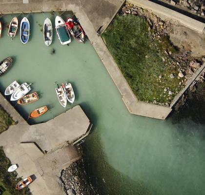 Arild Harbor Inlet