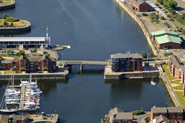 Liverpool Marina Lift Bridge