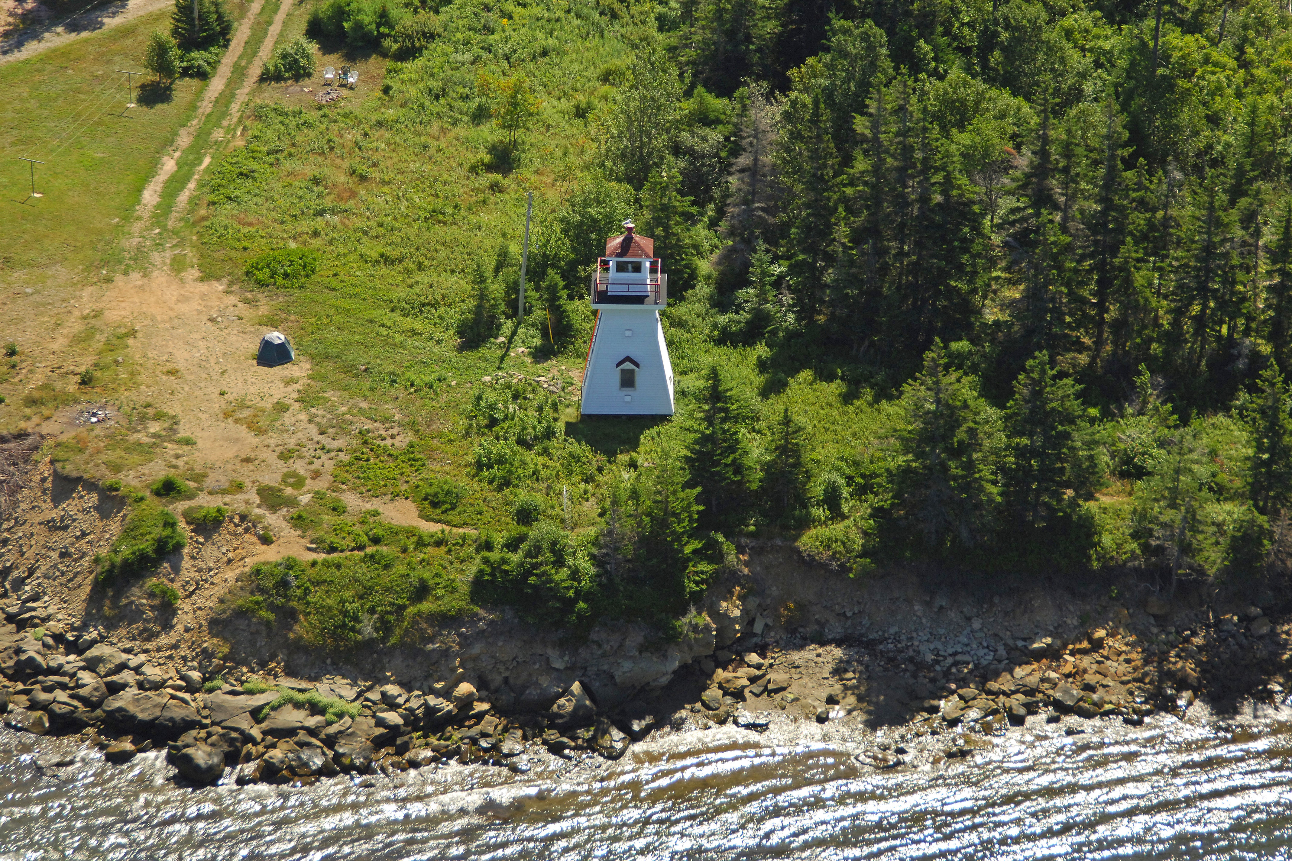fa0b96db84 Great Bras D Or Front Range Lighthouse in Big Bras D Or