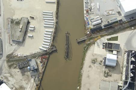Soo Line Railroad Swing Bridge
