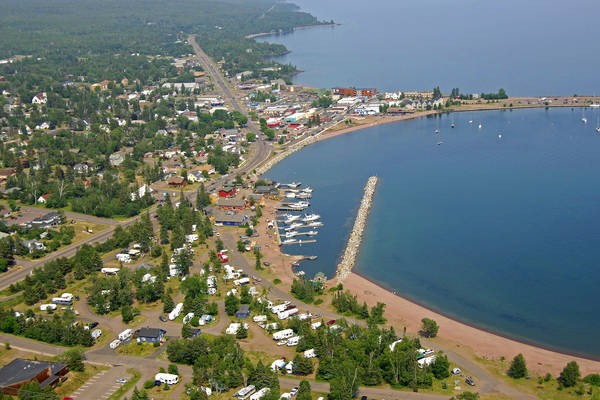 Grand Marais Recreation Area Marina