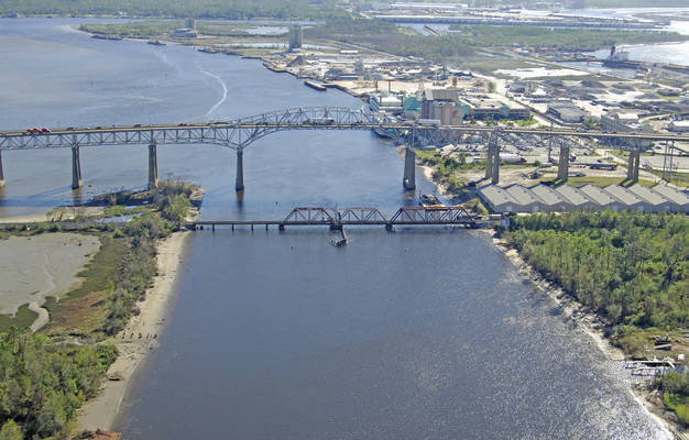 Calcasieu River Train Bridge