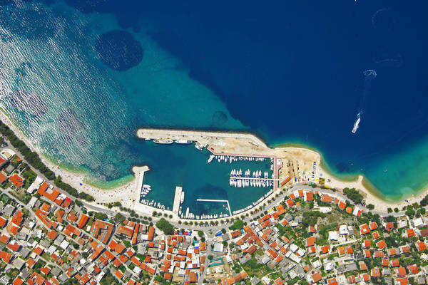 Baska Voda Harbour