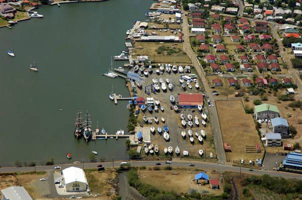 Rodney Bay Boat Yard