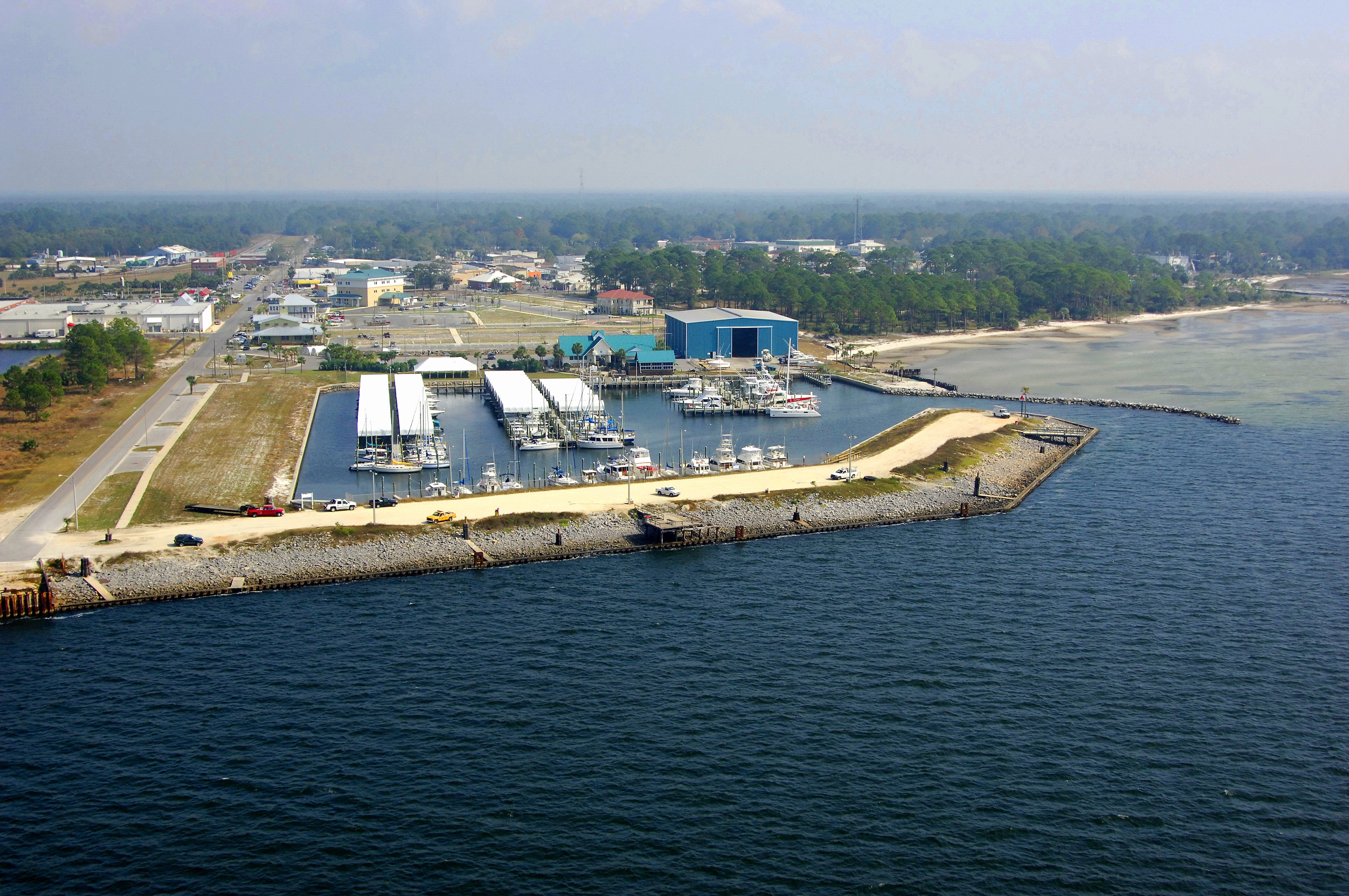 Port Saint Joe Marina In Port St Joe Fl United States