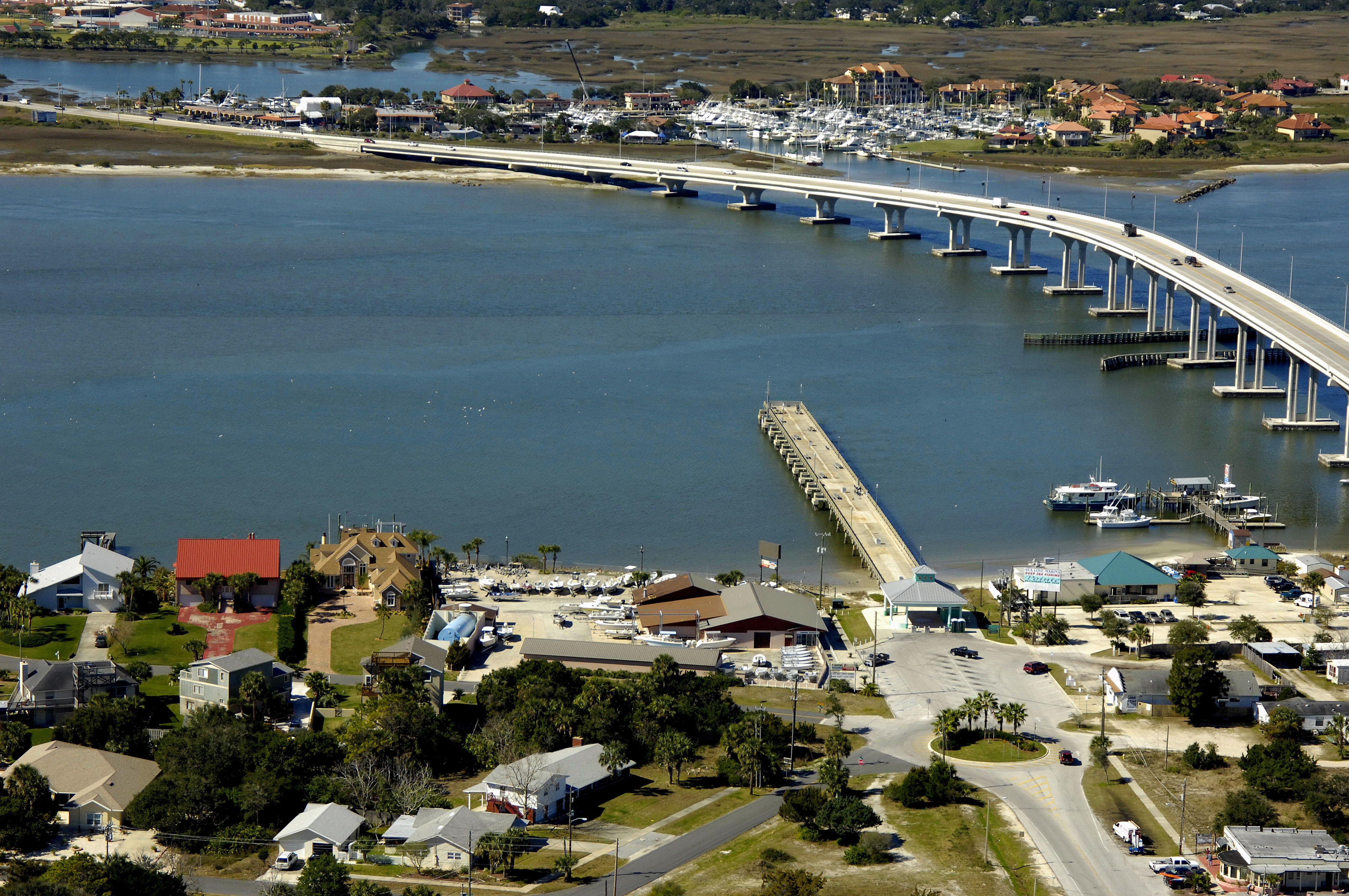 Vilano Beach Pier St Augustine Marina