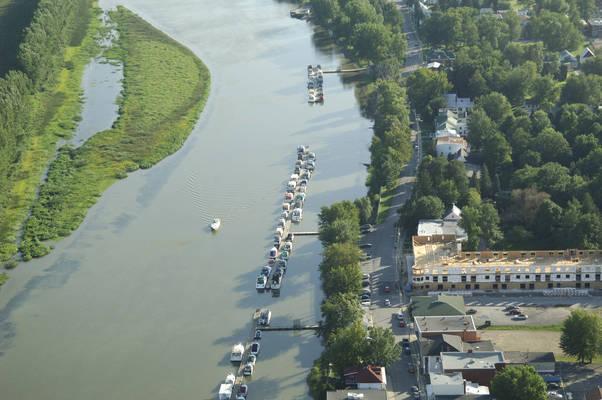 Berthierville Town Docks