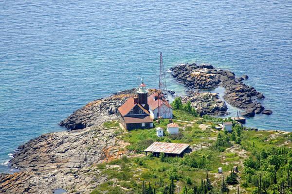Passage Island Light