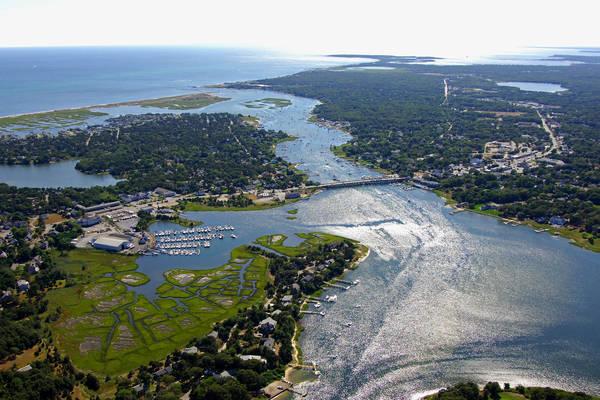 Bass River in West Dennis Harbor